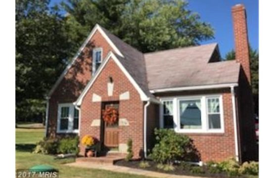 1514 Old Westminster Pike, Westminster MD 21157